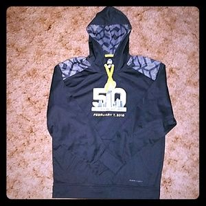 Majestic Thermabase Superbowl 50 Pullover Hoodie